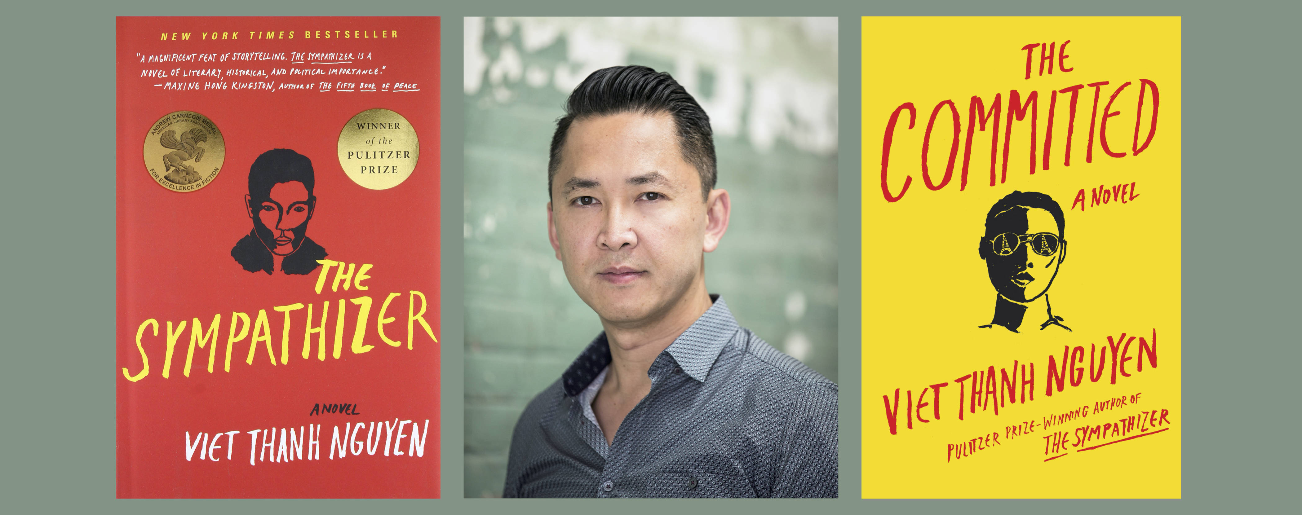 Author Viet Thanh Nguyen (Photo by BeBe Jacobs); Grove/Atlantic