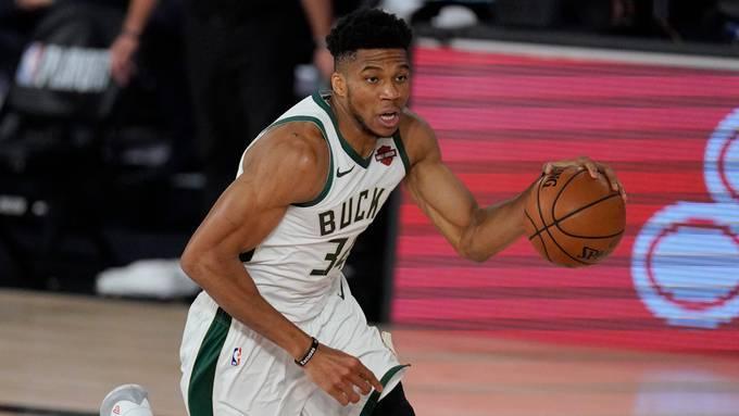 Milwaukee Bucks forward Giannis Antetokounmpo has until Dec. 21 to sign a supermax extension worth $250 million. (Mark J. Terrill/AP)