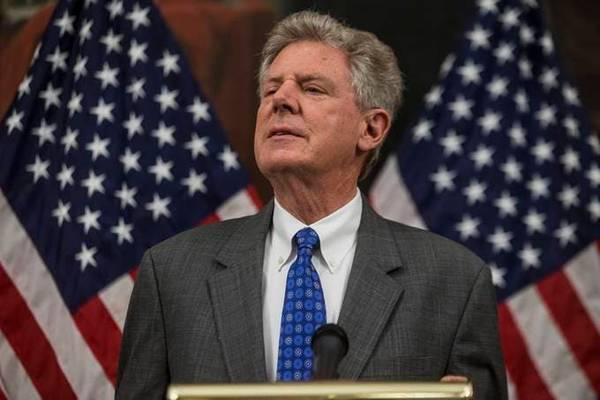 Rep. Frank Pallone (D-NJ). (Photo by Zach Gibson/Getty Images)