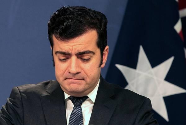 Australian Sen.&amp;nbsp;Sam Dastyari&amp;nbsp;during a press&amp;nbsp;conference in Sydney on&amp;nbsp;Dec.&amp;nbsp;12. (Ben Rushton/Reuters)</p>