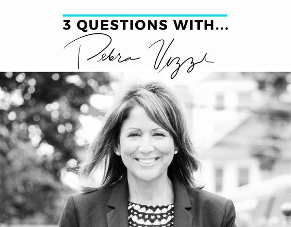 3 questions with Debra Vizzi