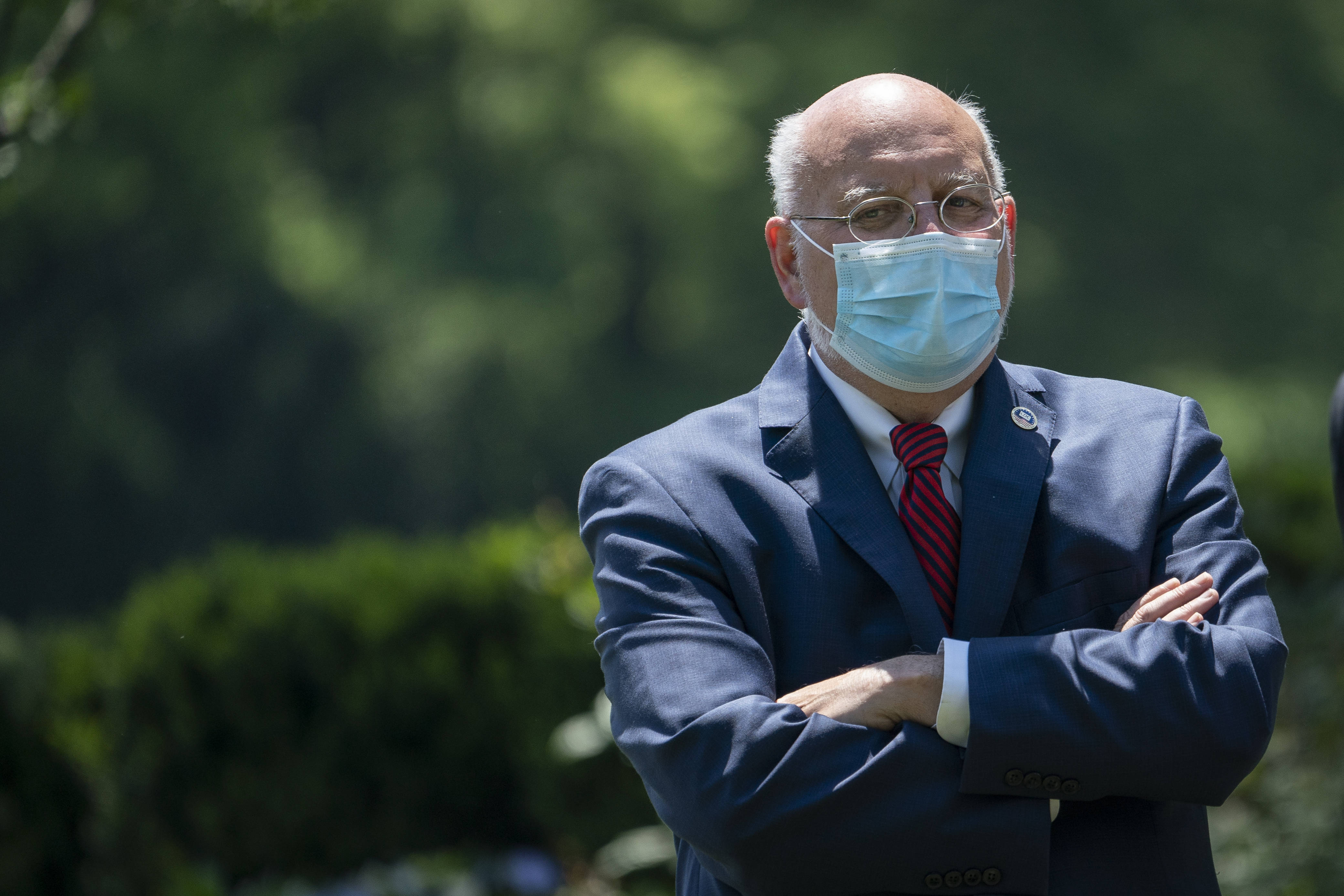 CDC Director Robert Redfield is getting criticism from the White House. (Drew Angerer/Getty Images)