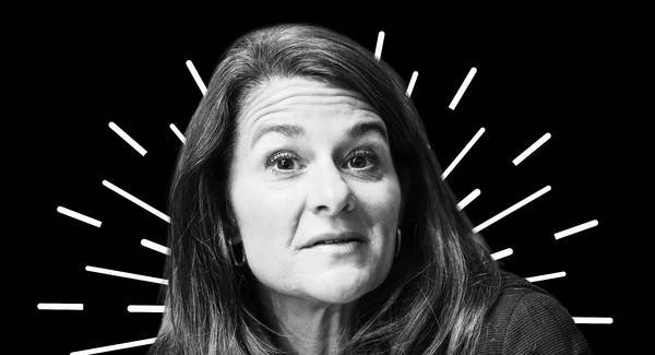 Melinda Gates. (Alain Grosclaude/AFP/Getty Images; iStock)