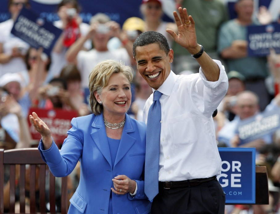 Hillary vs Obama on the issue of gay marriage - Democratic.