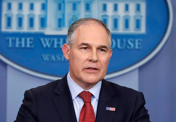 EPA chief Scott Pruitt. (AP Photo/Pablo Martinez Monsivais, File)