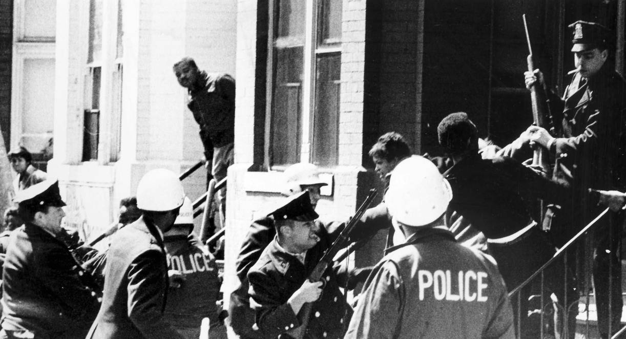 1968 riots in the District of Columbia. (Robert Burchette/The Washington Post)