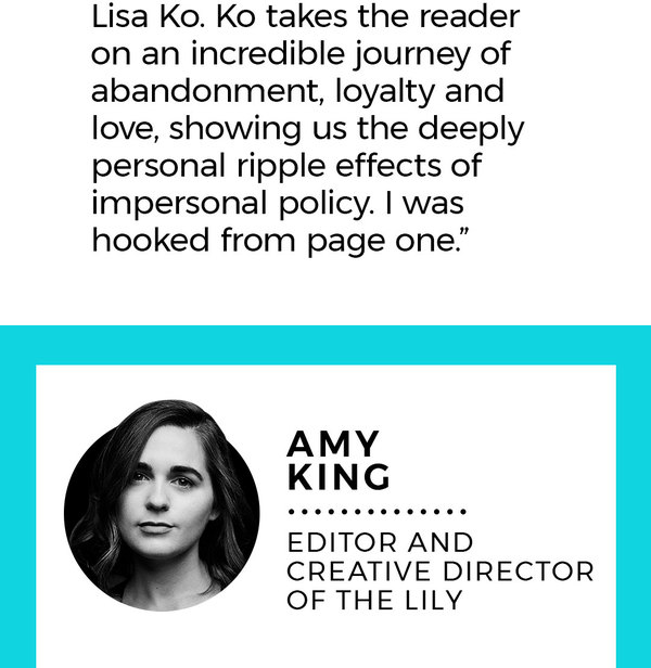 "10. Amy King Editor and creative director of The Lily Description: A woman travels to meet the younger version of her late husband (and his family she didn't know existed). ""'The Magician's Assistant' by Ann Patchett. I've been spending time with Sabine, a former magician's assistant, as she deals with the losses of her husband Parsifal, the magician, and his lover Phan. Like all books I love, this one leaves me marveling at how life can be at once so sad and so beautiful."""