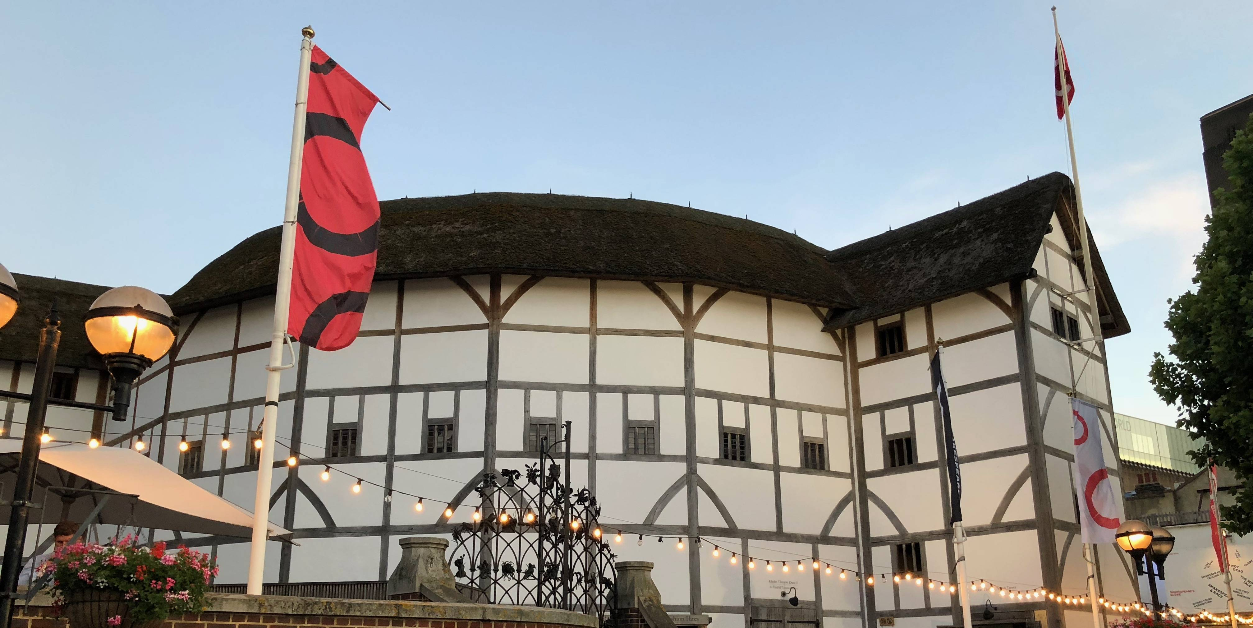 Shakespeare's Globe in London. (File photo by Ron Charles/The Washington Post)