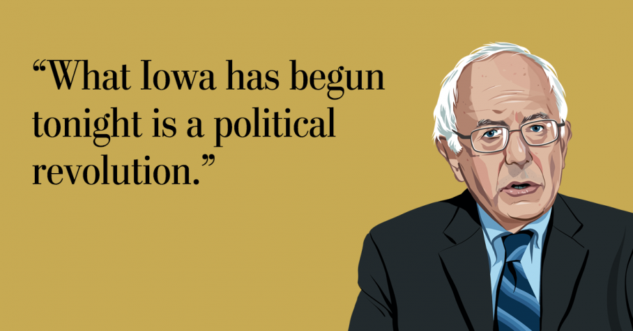 """""""How Sanders caught fire in Iowa,"""" by Karen Tumulty: Strategist Tad """"Devine  had told Sanders that he had to raise at least $40 million — and preferably  $50 ..."""