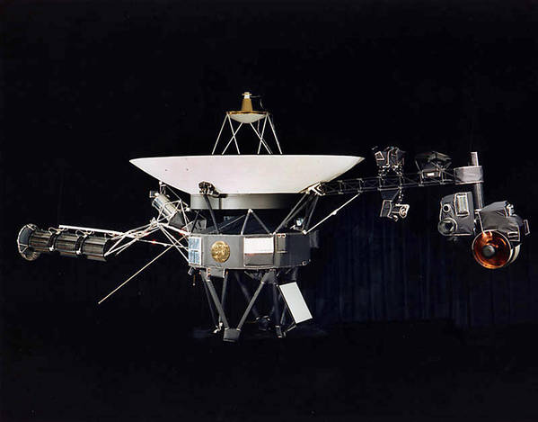 One of the twin Voyager spacecraft. Voyager 1 and Voyager 2 were launched in 1977 from Cape Canaveral, Fla. (NASA/AFP)