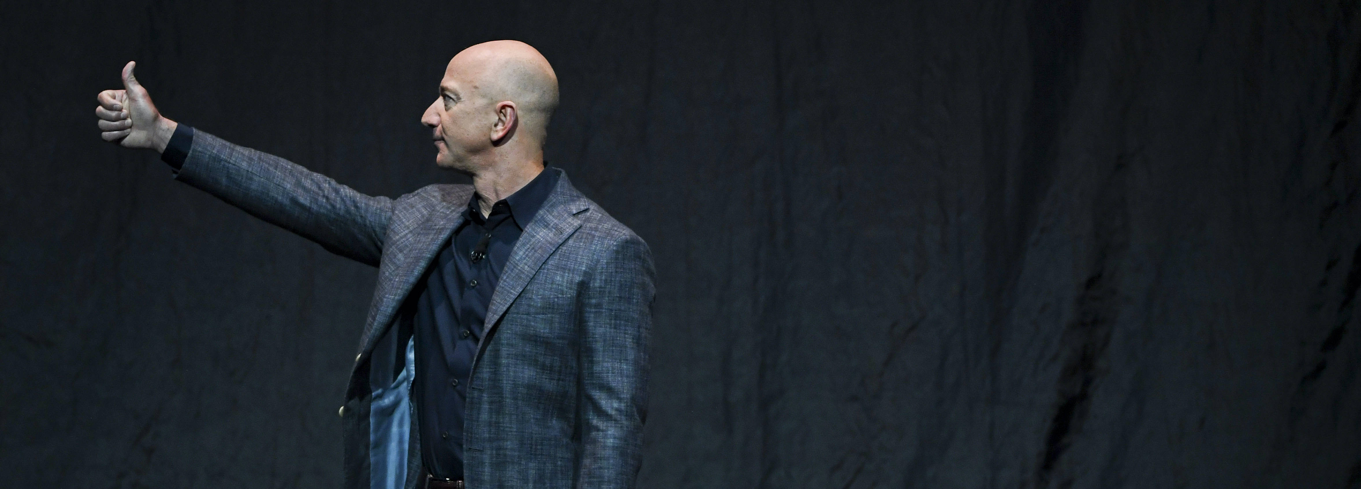 Amazon founder Jeff Bezos will step down as chief executive this summer and assume the role of executive chair. (Jonathan Newton/The Washington Post)