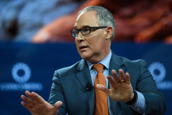 EPA administrator Scott Pruitt. (Photo by Riccardo Savi/Getty Images for Concordia Summit)