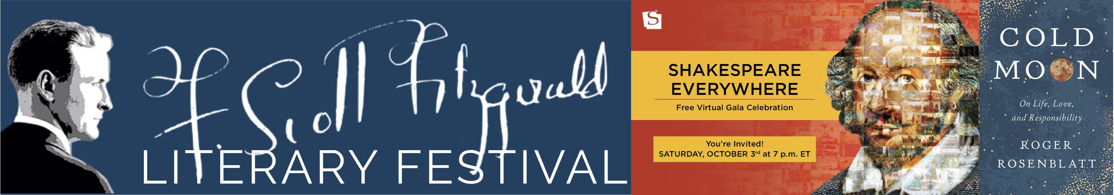 F. Scott Fitzgerald Literary Festival; Shakespeare Theatre Company; Turtle Point Press