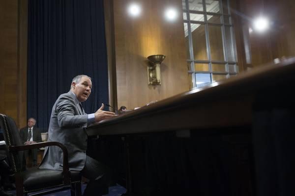 EPA chief Scott Pruitt.(MICHAEL REYNOLDS/EPA-EFE/REX/Shutterstock)
