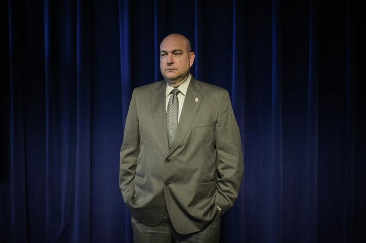 Baltimore Homicide Detective Lee Brandt (Salwan Georges/The Washington Post)/p