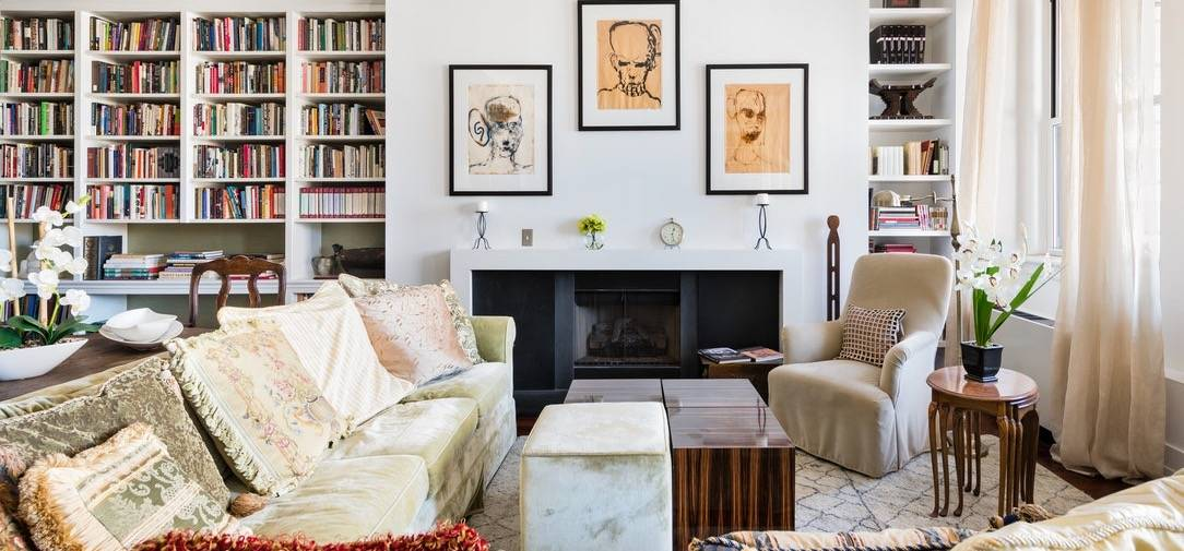 The New York condo once owned by Nobel laureate Toni Morrison. (Photo by Matt Vacca/Brown Harris Stevens)