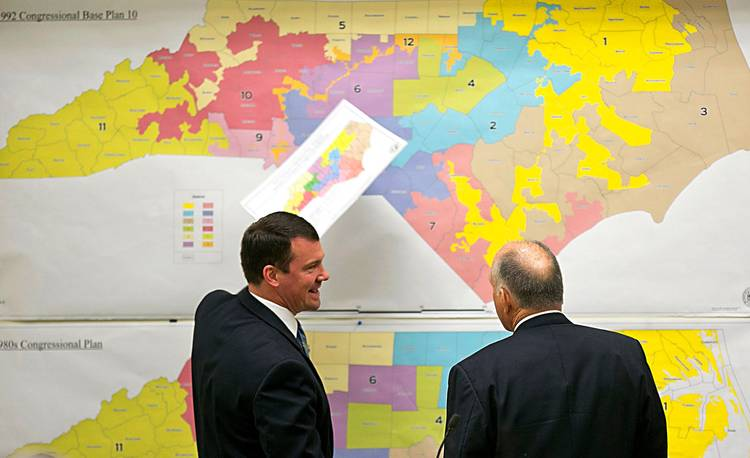 The Supreme Court ruled that North Carolina did not immediately have to redraw its congressional district maps. (Corey Lowenstein/The News & Observer via AP, File)