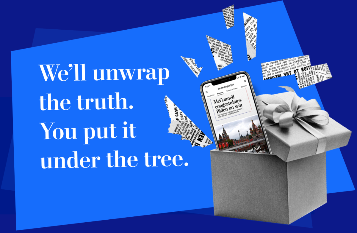 ​​We'll unwrap the truth. You put it under the tree.