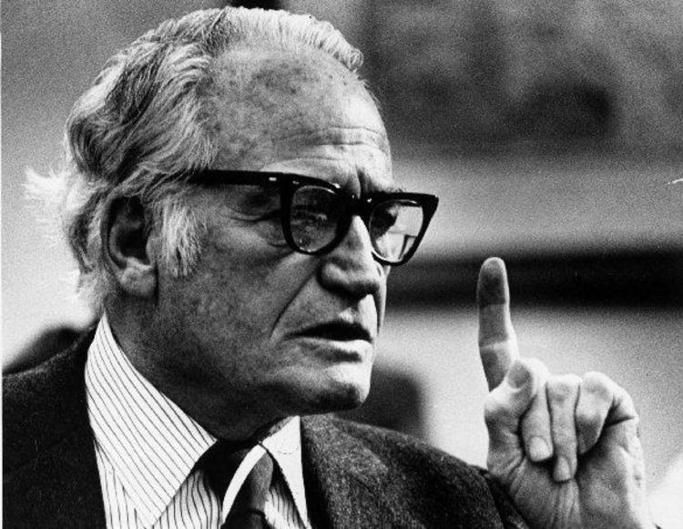 Barry Goldwater in 1980. (James K.W. Atherton/The Washington Post)