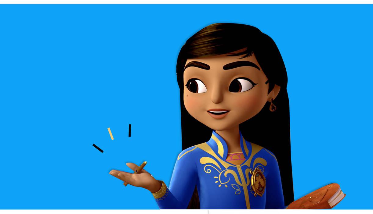 (Disney Junior; Lily illustration)