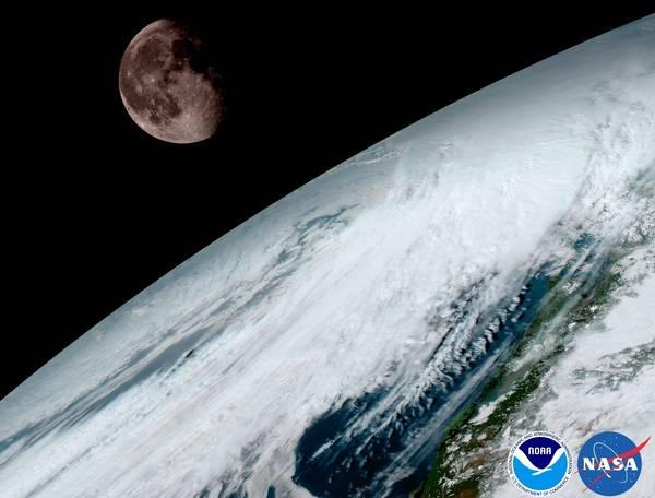 (NOAA/NASA)