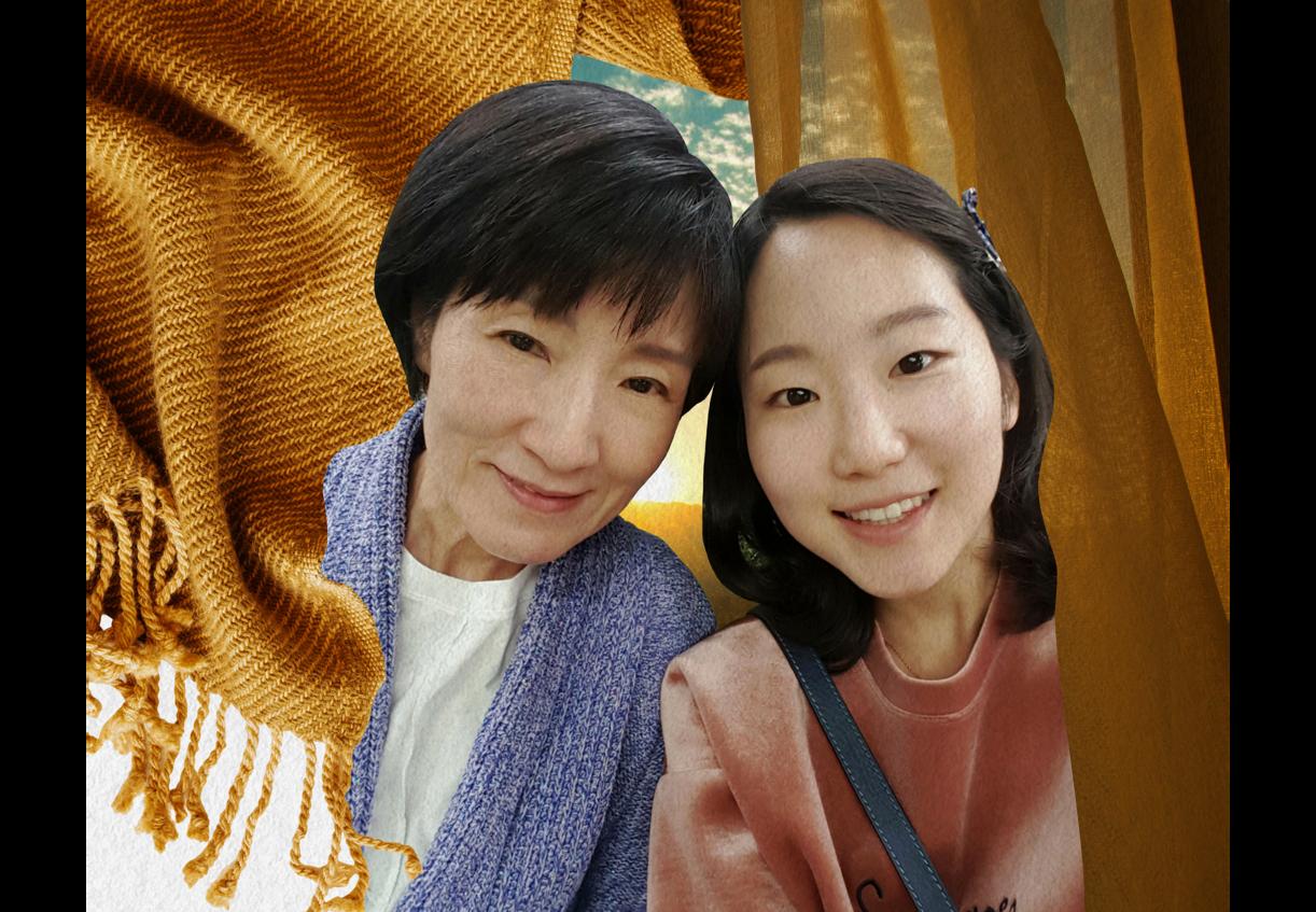 Yeunjin Min and Soojin Min (Maya Sugarman/The Lily; Soojin Min; iStock)