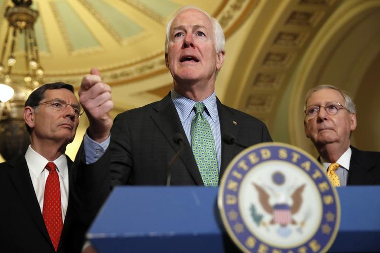 Senate Majority Whip John Cornyn of Texas.(AP/Jacquelyn Martin)/p
