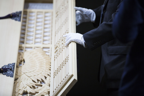 A casket inYokohama, Japan. Photographer: Shiho Fukada/Bloomberg