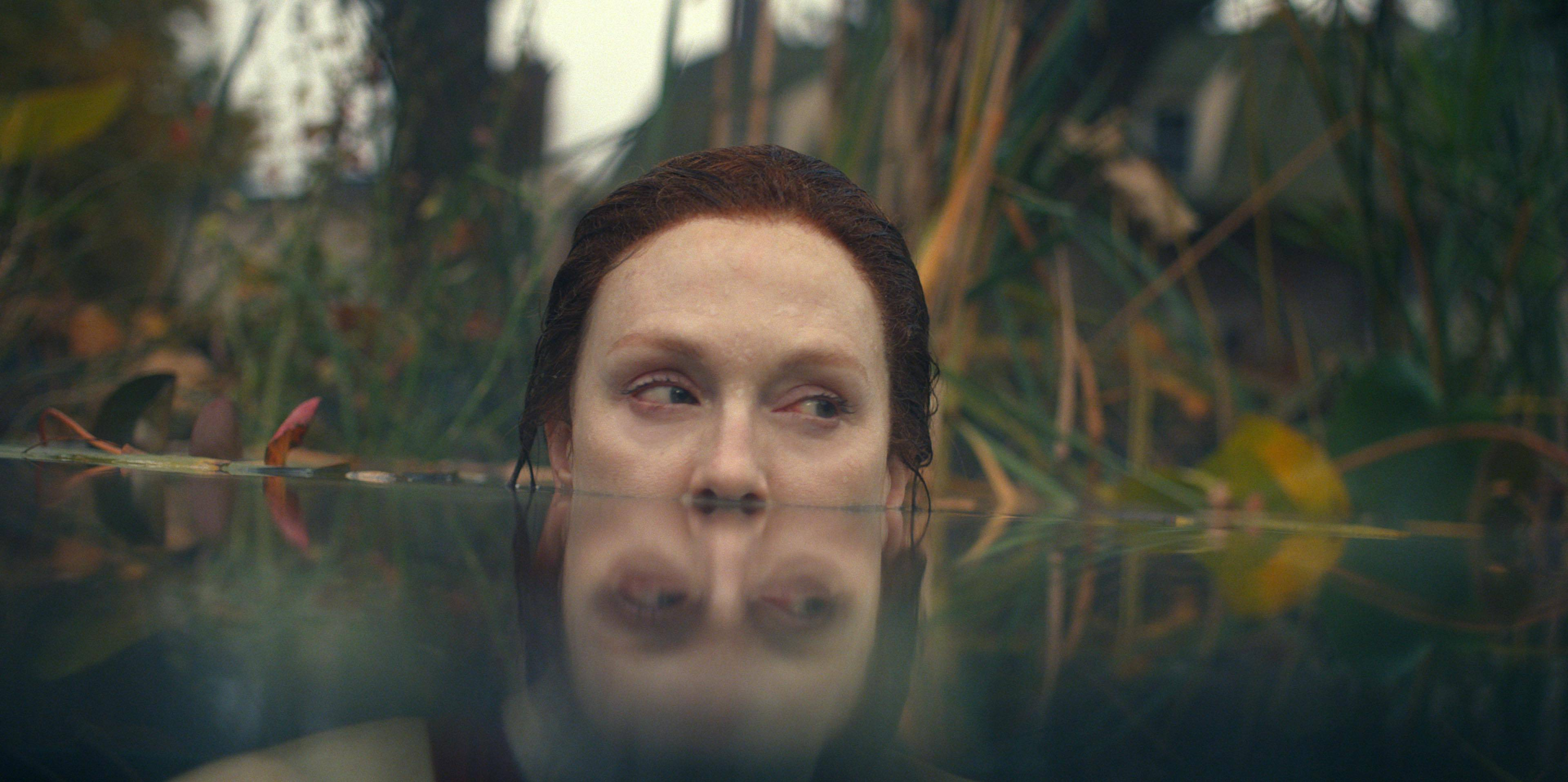 """Julianne Moore in """"Lisey's Story,"""" by Stephen King, which starts streaming today on Apple TV."""