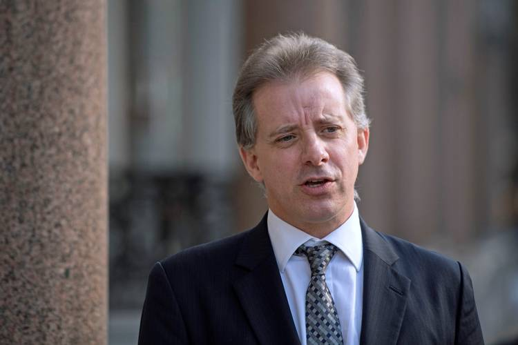 Christopher Steele. (Victoria Jones/AP)